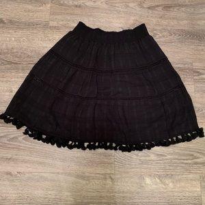 LOFT Tassel Skirt